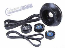 POWERBOND PBK002 Pulley Under Drive Kit Suit Holden Commodore VE LS3 6.2L L98 6L