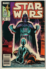 Vintage February 1984 Star Wars #80 Marvel Comic Book Rare - Darth Vader Cover