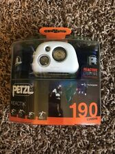Petzl Reactik Headlamp Blue 190 Lumens Reactive Lighting Technology New!!