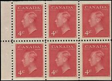 "CANADA 287b - King George VI Definitive ""Booklet Pane"" (pf89174)"