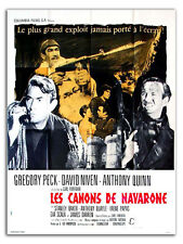 Affiche 120x160cm LES CANONS DE NAVARONE /THE GUNS OF… 1961 Peck, Niven R #