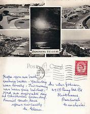 1957 MULTI VIEWS OF BOGNOR REGIS SUSSEX POSTCARD