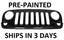 New Painted to Match - Grille for 2007-2013 Jeep Wrangler grill