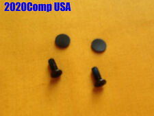 GENUINE HP Compaq G61 CQ61 511wm 429wm 320ca 411wm LCD Bezel Screw Cover+ Screws