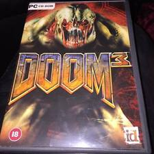 DOOM 3  Pc cd rom 3 DISC EDITION COMPLETE WITH MANUAL