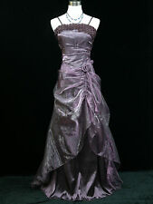 Cherlone Plus Size Purple Ballgown Wedding/Evening Bridesmaid Formal Dress 22-24