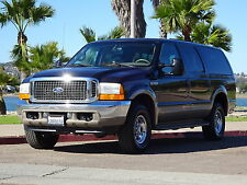 Ford: Excursion Limited 4WD 4x4 7.3 POWERSTROKE DIESEL LEATHER
