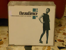 THEAUDIENCE - I KNOW ENOUGH ( I DON'T GET ENOUGH) cd slim case PROMO 1998
