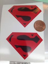Die Cut Supeboy Decals For 12 Inch Figures. 1/6 Scale These Are Big, Full Chest