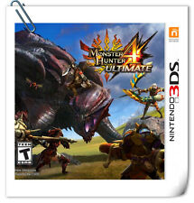 3DS Nintendo MONSTER HUNTER 4 Ultimate Action Capcom
