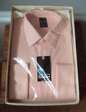 BNIB-Unused -Pink Nylon Shirt by Seercraft - in Courtaulds Celon [Nylon] ~ 16.5""