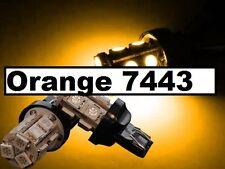 Orange Amber T20 7440 7443 13 LED Tail Brake Stop Turn Bulbs Light W21W Toyota