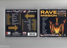 Rave mission classics vol. 1 - 2cd-rare-comme neuf-transe hard transe Acid