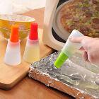 Silicone Honey Oil Brush&Bottle Kitchen BBQ Tool Cooking Baking Pancake Basting