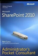 Microsoft SharePoint 2010 Administrator's Pocket Consultant-ExLibrary