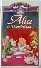Alice in Wonderland (VHS, 1998, Disney, Masterpiece Collection)