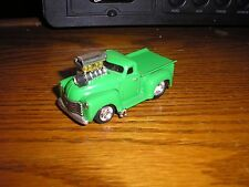 1/64 Funline Muscle Machines Blown Pro Street 1950's Chevy Pick up Truck Green