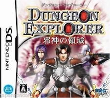 Used DS  Dungeon Explorer: Jashin no Ryouiki NINTENDO JAPANESE IMPORT