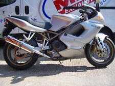 Ducati ST4 99-2003 Stainless round Road Legal MTC Exhausts