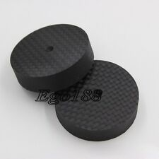 8pcs 40mm 10mm  Brand New Carbon Fiber Speaker Isolator Spike pad stand base