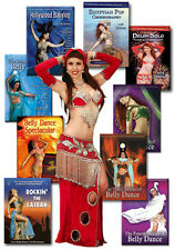 Ultimate Jillina Belly Dance DVD Collection - 9 Belly Dancing DVDs