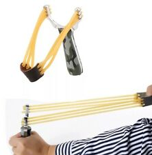 UK Powerful Pro HOT Alloy Handle Sling Outdoor Catapult Hunting Slingshot Game