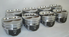 SPEED PRO Chevy 350/5.7/5.7L LT1 Hypereutectic Coated Skirt Pistons Set/8 +.040""