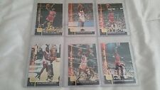MICHAEL JORDAN 1999 JUMBO CARD JUNE SET MJ1,2,3,4,5,6 GATORADE