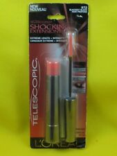 New Loreal Telescopic Shocking Extensions Mascara-972 Blackest Black