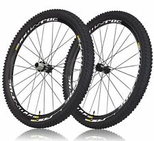 "NEW** MAVIC CROSSROC WTS 29"" MTB MOUNTAIN WHEELSET + TIRESET (29x2.2) 15/9x135"
