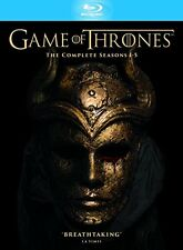 GAME OF THRONES - COMPLETE SEASONS 1-5 (BLURAY)