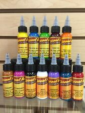 Eternal Tattoo Ink 12 Color Artists Choice Professional Set 1 Oz 100% Authentic