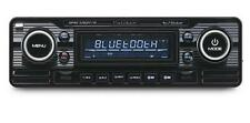 Caliber RMD120BT BLACK Classic Car Retro Stereo FM USB SD Aux Bluetooth A2DP