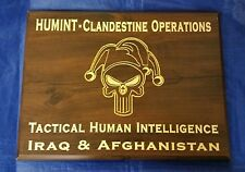 HUMINT Clandestine Ops Tactical Human Intel CIA JSOC SAS Jester Iraq Afghanistan