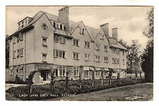 Lady Jane Grey Hall - Eltham Photo Postcard 1925 / Woolwich