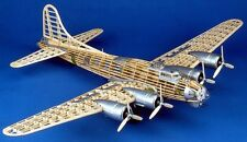 Model Airplane Kit WWII Bomber Plane Guillow's B-17G Flying Fortress