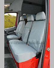 MERCEDES SPRINTER FULLY TAILORED EXTRA HEAVY DUTY VAN SEAT COVERS GREY