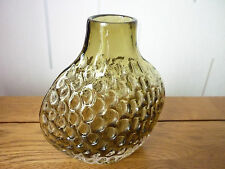 SUPERB VERY RARE WHITEFRIARS SAGE GREEN ONION/PUFFA VASE.