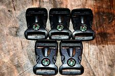 15 ~ Paracord Compass Buckles with Compass Inside Buckle Paracord Bracelets  USA