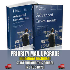 Advanced Investments DVD New Sealed Teaching Co Great Courses Finance Economy