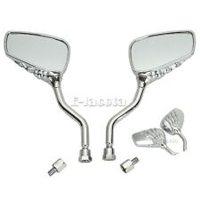 Skull Hand Rearview Side Mirror For Street Bike Sport Chopper Cruiser