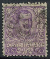 Italy 1901 SG#70, 50c Mauve Used Cat £18 #D8830
