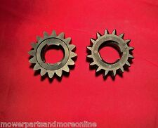 2 x 16 TOOTH STARTER GEAR REPLACES BRIGGS & STRATTON 693059, 695708 & 280104