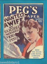#T48.  WWII  PEG'S PAPER WOMANS MAGAZINE #1093 APRIL 27th 1940