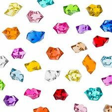 Acrylic Color Ice Rock Crystals Treasure Gems for Table Scatters, Vase Fillers,