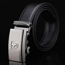 2016 New Mens Leather Belt With Designer Automatic Buckle Waist Strap Formal