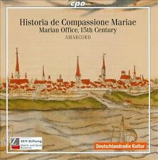 NEW - Historia De Compassione Mariae: Marian Office by TRADITIONAL