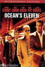 Ocean's Eleven DVD 2002 Widescreen Movie based on the 1960 Rat Pack film Ocean..
