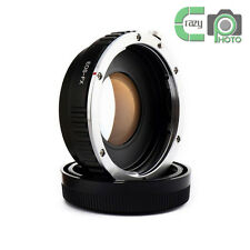 for Canon EOS EF Lens to Fuji FX X-Pro1 X-E2 Focal Reducer Speed Booster Adapter