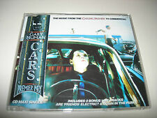 Gary Numan - Cars Carling Premier Mix 4 Track CD Maxi Single - 1996 Deleted